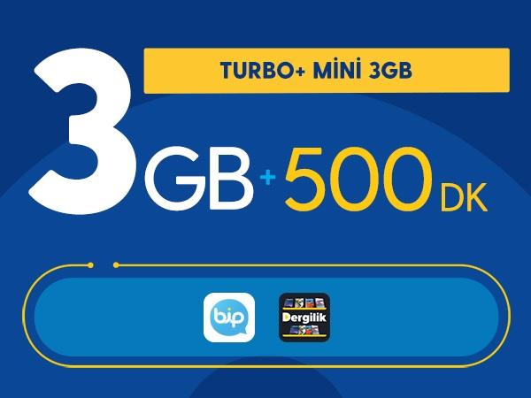 Turbo+ Mini 3GB