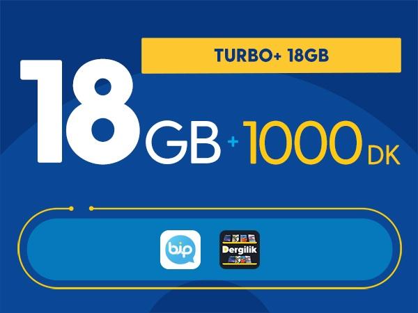 Turbo+ 18GB