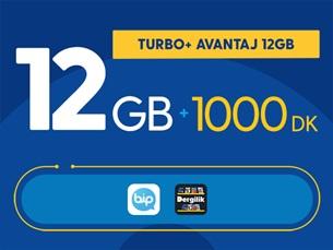 Satın Al Turbo+ Avantaj 12GB