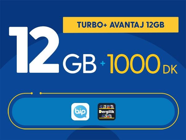Turbo+ Avantaj 12GB