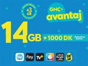 Satın Al GNÇ+ Avantaj 14GB