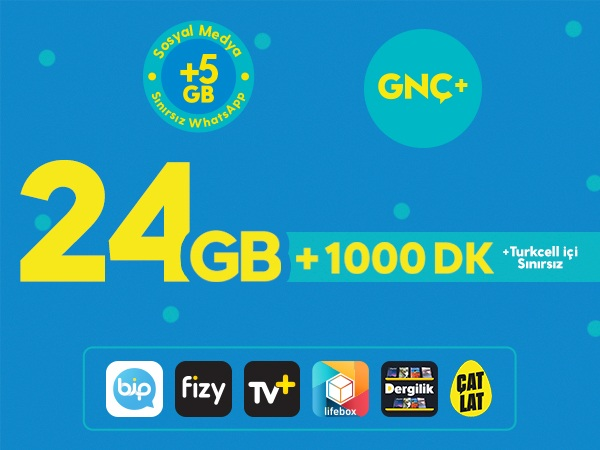 GNÇ+ 24GB