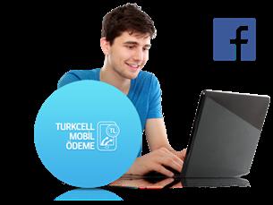 Turkcell Mobil Ödeme ile Facebook