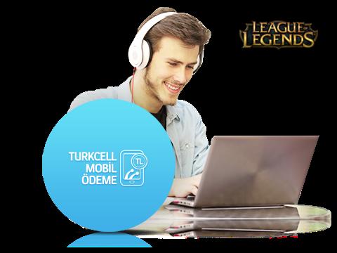 League of Legends'da Turkcell Mobil Ödeme