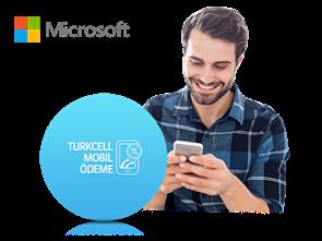 Microsoft Store'da Turkcell Mobil Ödeme