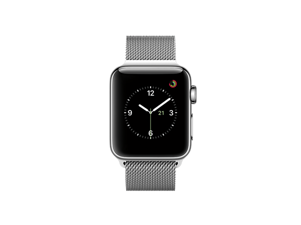 Apple Watch Series 2 38 mm Milano Özel Seri Gümüş