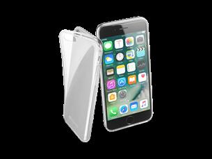 Cellular Line iPhone 7 Parlak Kauçuk Şeffaf Kılıf