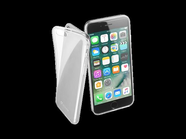 Cellular Line iPhone 7/8 Parlak Kauçuk Şeffaf Kılıf