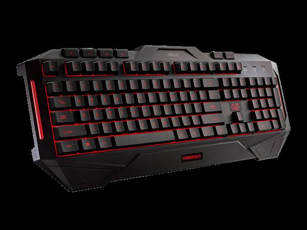 Asus Cerberus Combo Oyuncu Klavye&Mouse