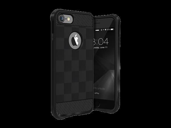 Buff iPhone 7 Black Armor Koruyucu Kılıf