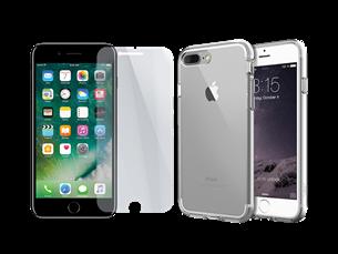 Buff iPhone 7 Plus Air Hybrid 2li Set