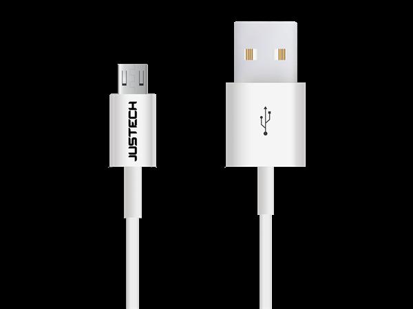 Justech Micro USB Şarj ve Data Kablosu (1m)