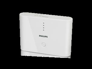 Philips Taşınabilir Şarj Cihazı 10400 mAh Beyaz
