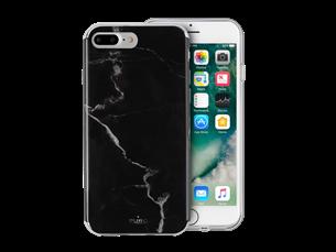 Puro iPhone 6 Plus/7 Plus/8 Plus Mermer Desenli Koruyucu Kılıf