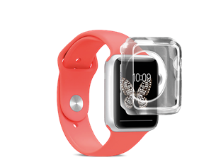 SBS Apple Watch 38mm Silikon Kılıf
