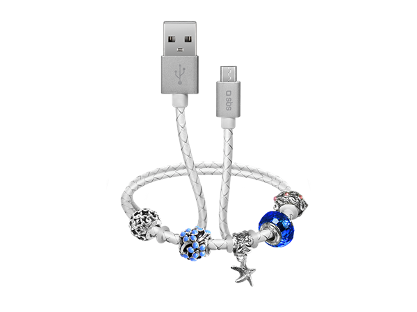 SBS Ladies Micro USB Şarj ve Data Kablosu