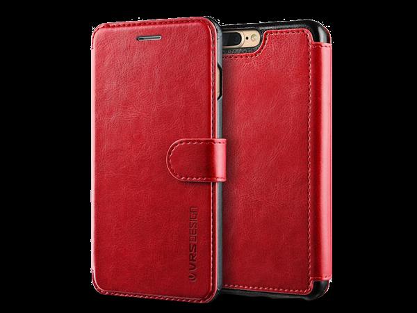 Verus Dandy Layered iPhone 7 Plus Cüzdan Deri Kılıf