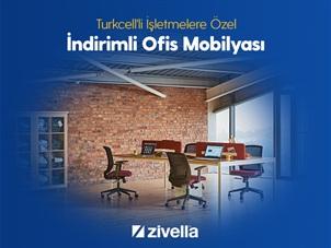 Turkcell'li İşletmelere Özel İndirimli Ofis Mobilyası Zivella'da