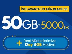 Satın Al İşte Avantaj Platin Black 50