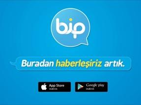Mesajlaşmanın en yeni en eğlenceli hali BiP!